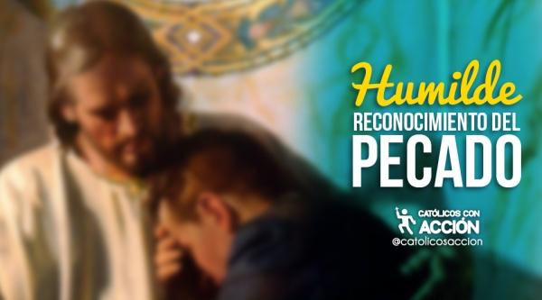 humilde reconciliación del pecado