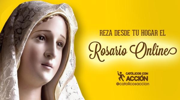 Rosario Online Catolicos con accion