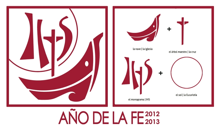 Logo Año de la fe católicos con accion