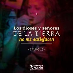 He mendigado amores, he buscado saciar mi sed, he probado con todo y nada me satisface, ningún señor y dios de la tierra me satisface.