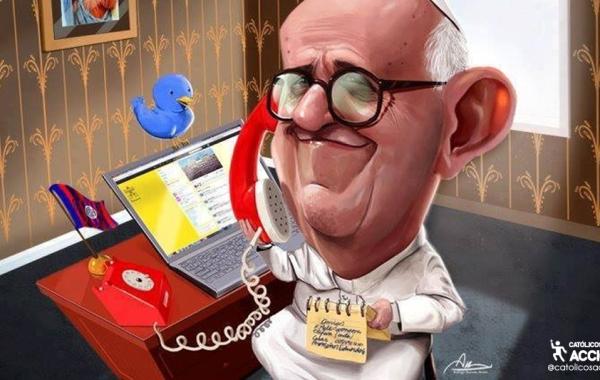 Papa Francisco Catolicos con acción redes sociales comunicacion