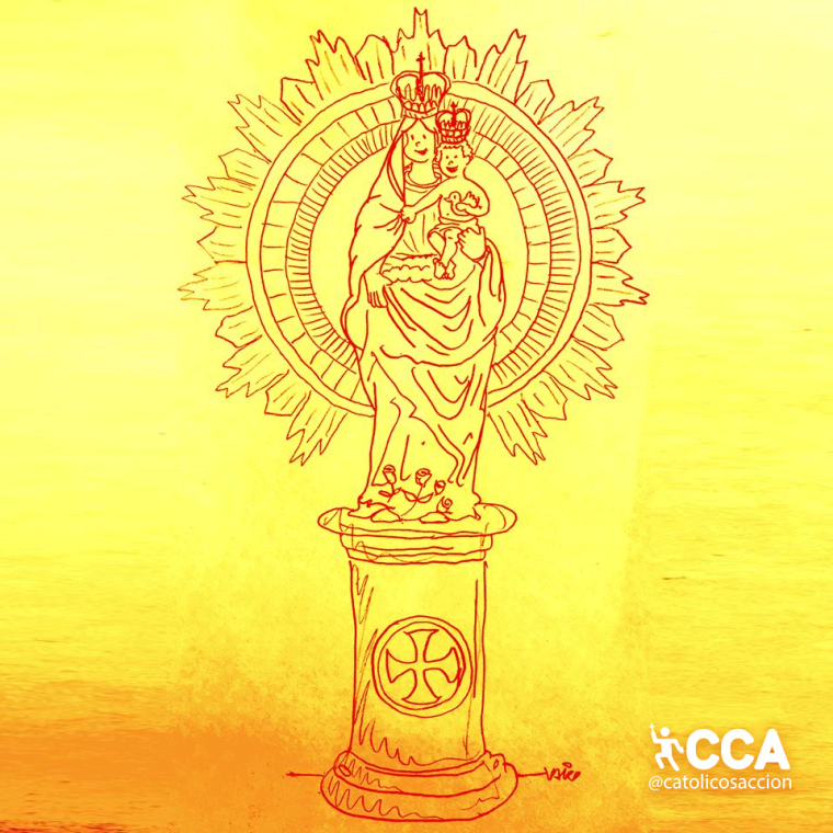 """Nuestra Señora del Pilar"" – @Filia_misericordiae"