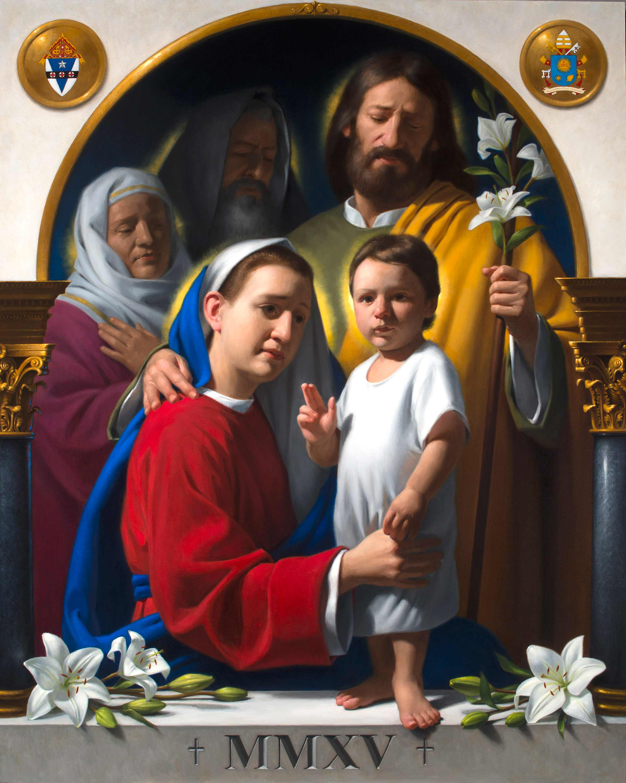 Oración A La Sagrada Familia Católicos Con Acción
