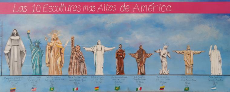 las 10 estatuas más altas de América Vía wikimedia.