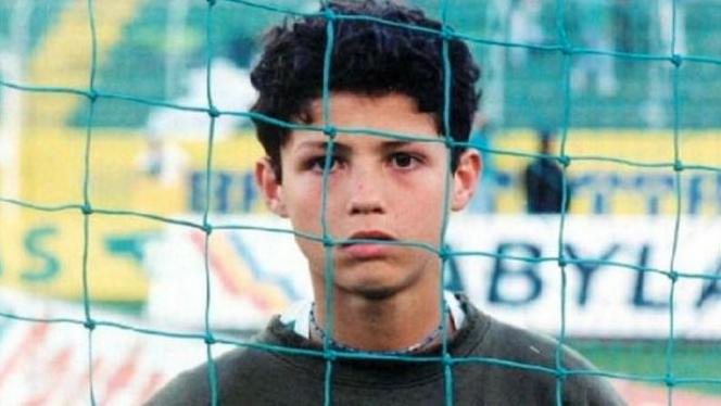 sporting Cristiano Ronaldo 16 años